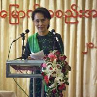 Suu Kyi party to decide soon whether to contest Myanmar election