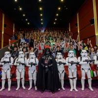 'Star Wars' shown in Chinese theaters for first time