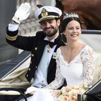 Sweden's Prince Carl Philip marries ex-model Sofia Hellqvist