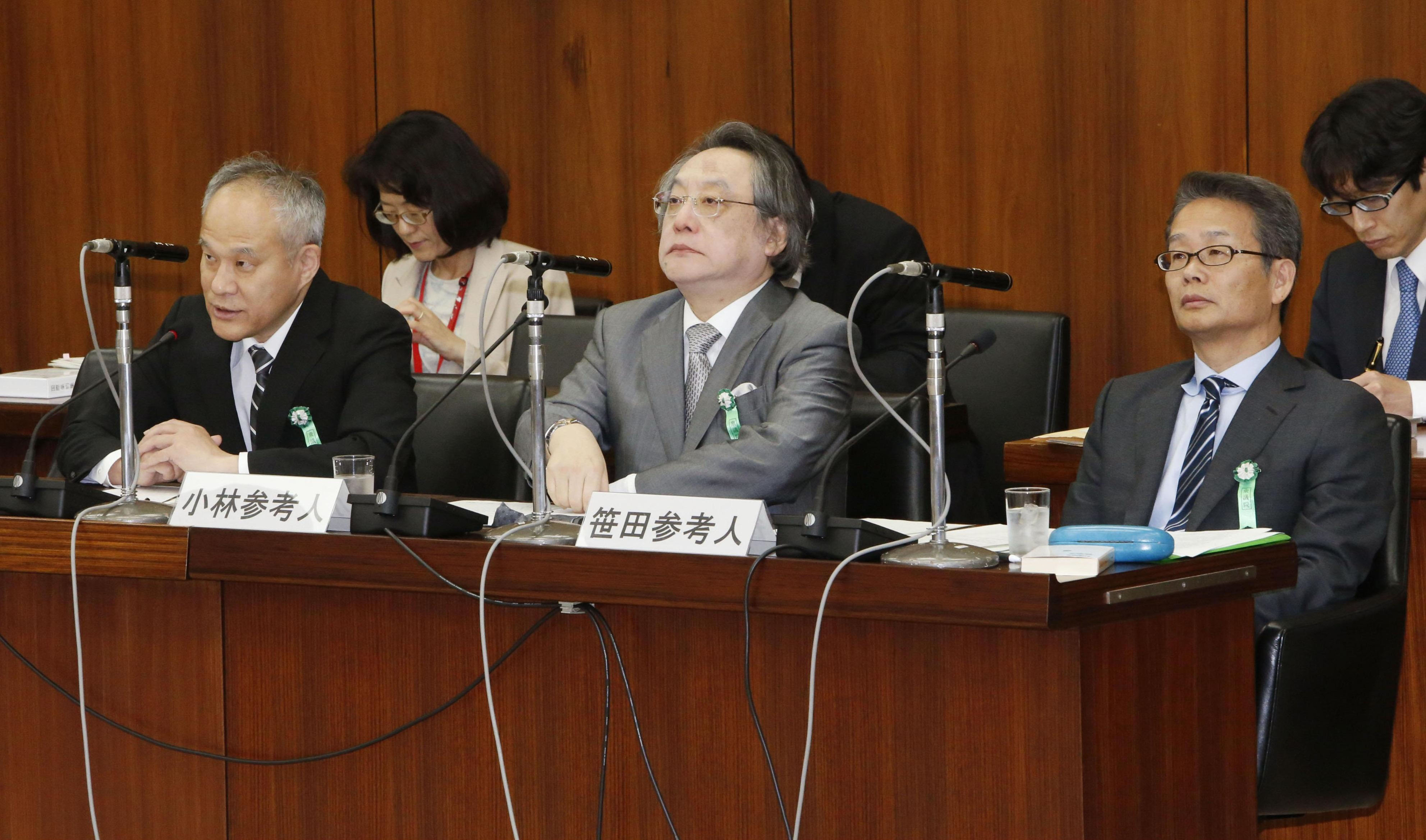 Experts' tongue-lashing rekindles Diet debate on reinterpreted Constitution | The Japan Times