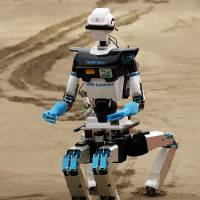 Robots compete in Fukushima-inspired U.S. challenge