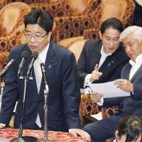 Abe 'regrets' LDP members' remarks calling for pressure on news media