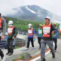 New Mount Fuji evacuation map posted in wake of deadly Ontake eruption