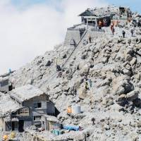 Teams return to Mount Ontake to search for bodies, eight months on