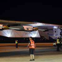 Solar Impulse's Nagoya takeoff scrubbed after Hawaii weather window closes