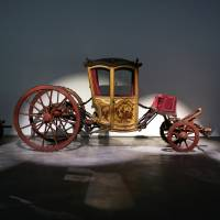 Carriages that carried kings get new Lisbon home