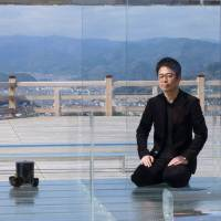 Kou-an glass teahouse gives tradition clarity