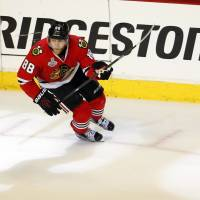 Blackhawks brass already building for future