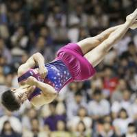 Shirai heads to gymnastics worlds after winning floor title at nationals