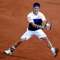 Nishikori loses golden opportunity for glory in Paris