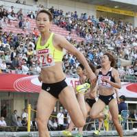 Sprinter Fukushima captures fifth straight 200-meter national title