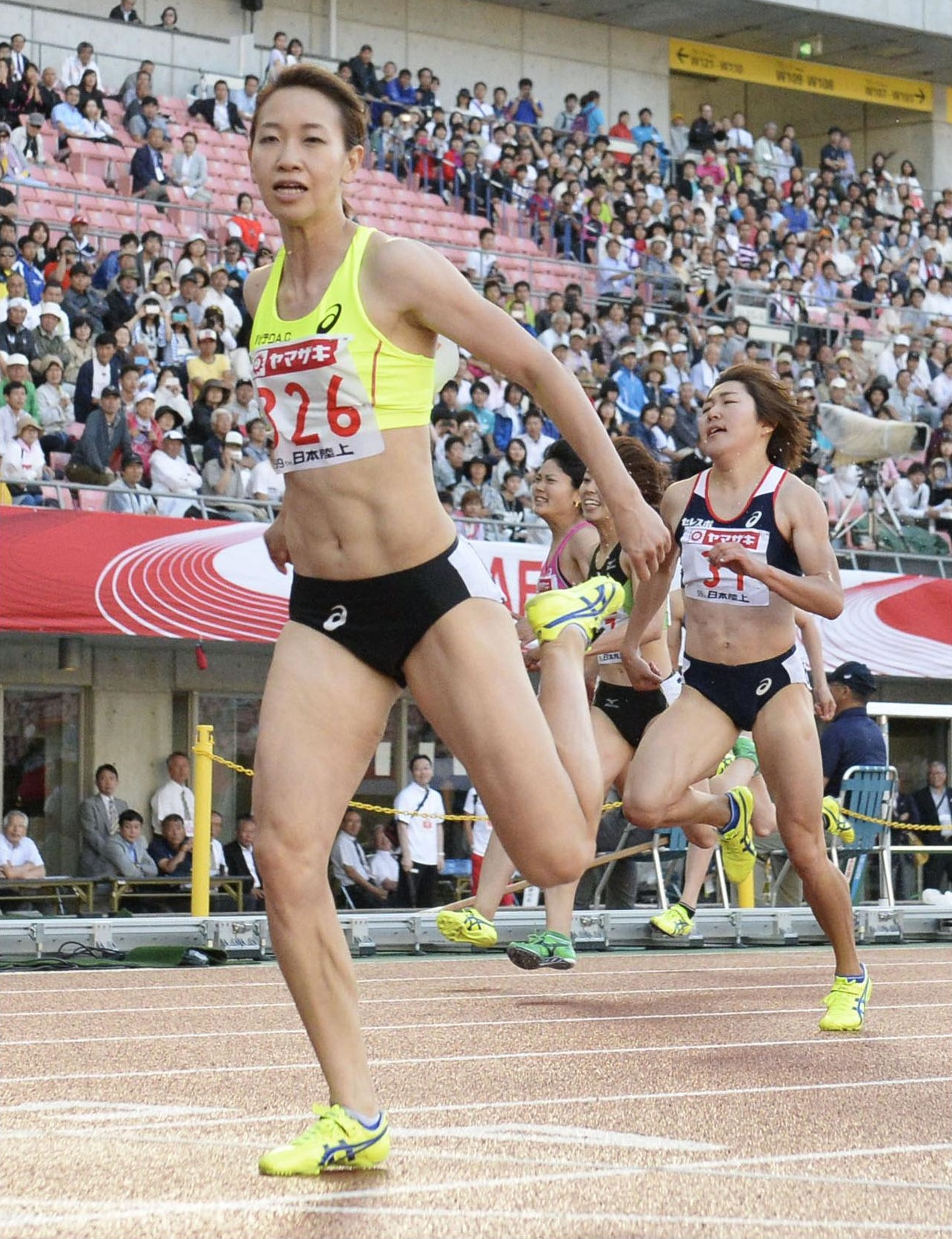 Sprinter Fukushima captures fifth straight 200-meter national title | The Japan Times
