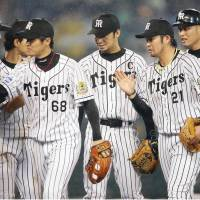 Iwata, Tsuruoka propel Tigers to rout of Fighters