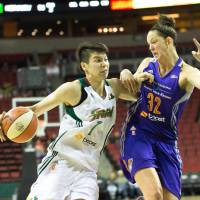Tokashiki earns spot with the Seattle Storm