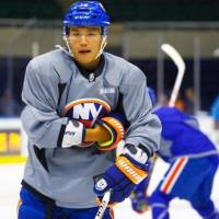 Terao invited to train with Islanders again