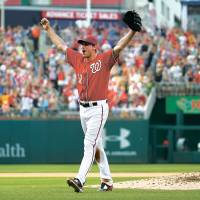 Scherzer throws no-hitter after losing perfect game in ninth