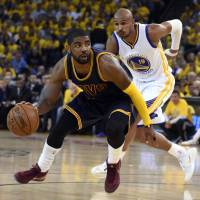 Injured Irving out for rest of NBA Finals