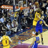 Cavs survive Warriors rally to win Game 3