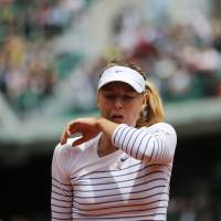 Sharapova bundled out of French Open