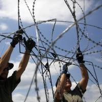Hungary taps inmate labor for Serbia border fence to block 1,000-migrant-a-day influx