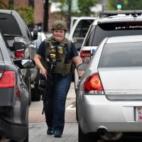 Navy Yard lockdown lifted after report of shots being fired proves to be false alarm