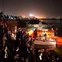Nile ferry crash claims at least 15; cargo boat skipper held