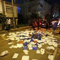 Istanbul protesters attack Thai Consulate over Bangkok's deportation of Uighurs to China