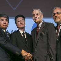 U.S. POW, 94, on hand as Mitsubishi unit offers formal WWII forced labor apology