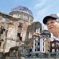 Hiroshima tour guide uses homemade models to teach devastation of A-bomb
