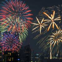 Tokyo Bay fireworks festival may be an Olympics loser, ousted by construction work