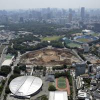 As Tokyo shrinks, Olympics may be last blast