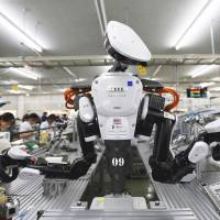 Japan using robots as fix for labor, growth woes