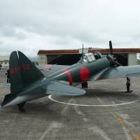 Zero fighter plane being prepped for first flight since WWII