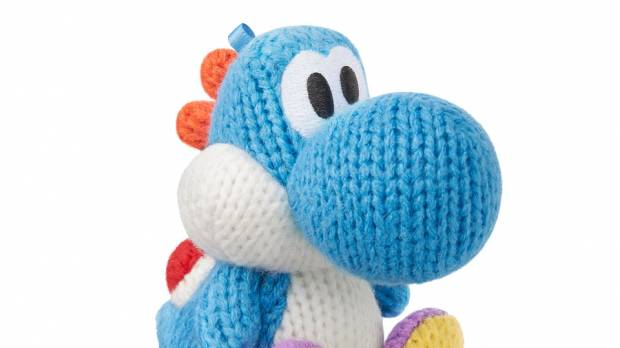 Yoshi gets knitted in his new woolly world