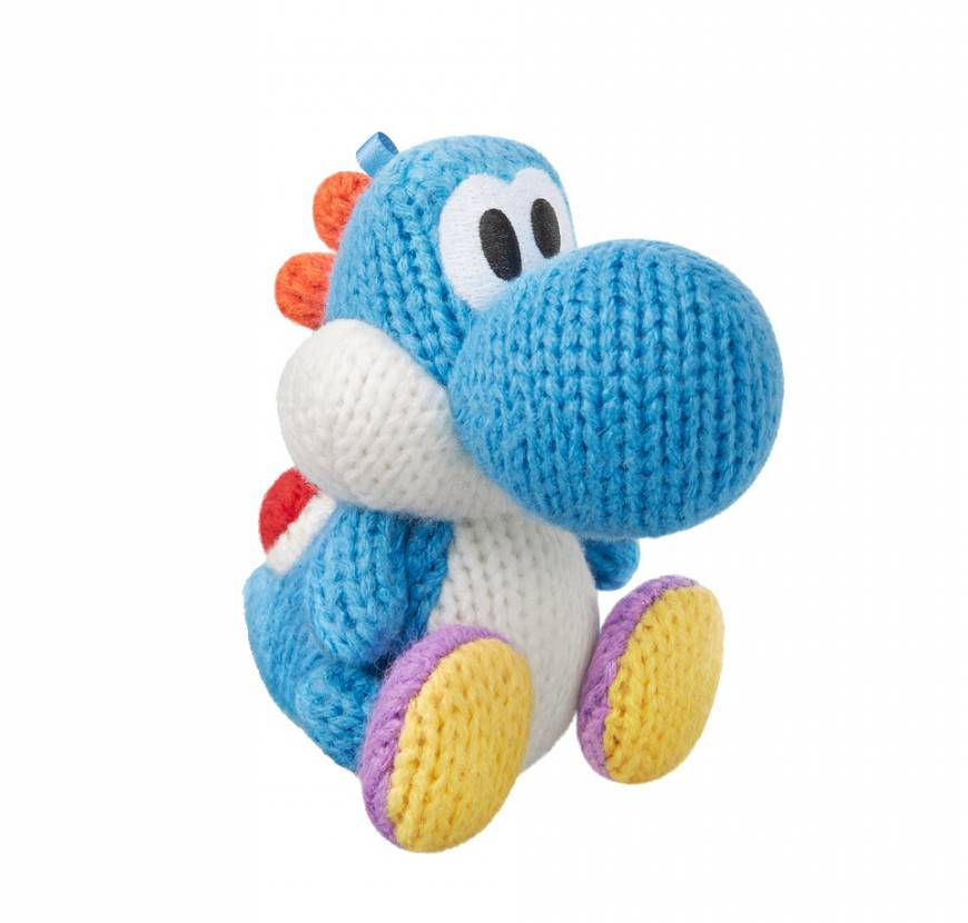 Knitting Patterns For Yoshi : Yoshi gets knitted in his new woolly world The Japan Times