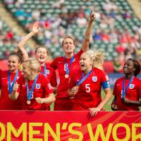 England beats Germany to clinch third-place finish in Women's World Cup