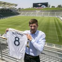 Gerrard ready to embrace Galaxy challenge