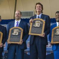 Four inducted into Baseball Hall of Fame