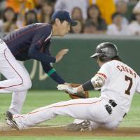 Chono changes Giants' fortunes with clutch triple in triumph over Swallows