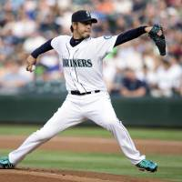 Seattle's Iwakuma shelled in return from disabled list