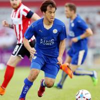 Okazaki makes Leicester preseason debut
