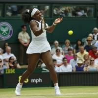 Serena beats Venus, moves into Wimbledon quarters