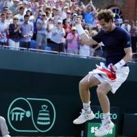 Murray revels in British triumph