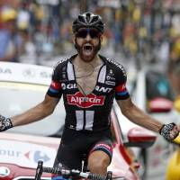 Geschke wins mountain stage as leader Froome stays safe