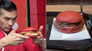 [VIDEO] Burger King Japan's limited-edition red burgers