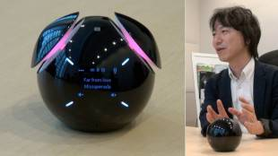[VIDEO] Sony's Smart Bluetooth Speaker that can talk and dance