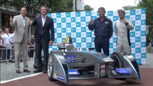 [VIDEO] Formula E makes its first run in Roppongi, Tokyo