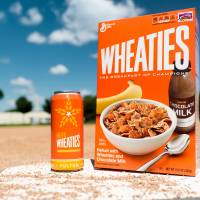 For the cereal drinker: Wheaties, brew of champions