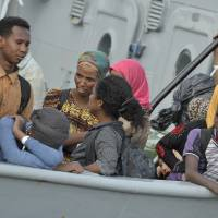 Death toll of migrants asphyxiated in hold of boat off Italy rises to 49