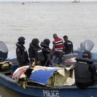 Oil rig copter carrying 12 crashes in Lagos lagoon; at least four killed